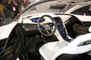 Cadillac Converj Interior