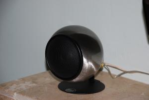 Speaker on My Mantle