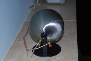 Back of Speaker