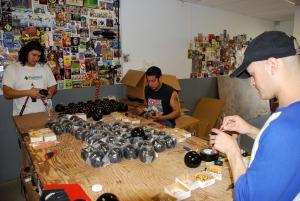 Crew at Work at Orb